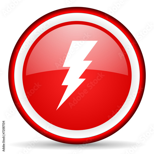 canvas print picture bolt web icon