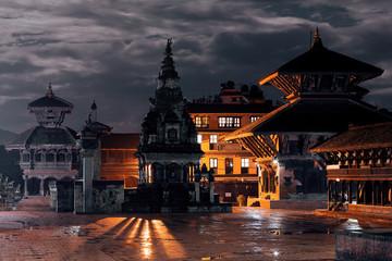 Night in Bhaktapur