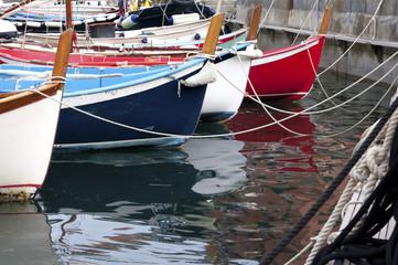 Bateaux de pêche à quai