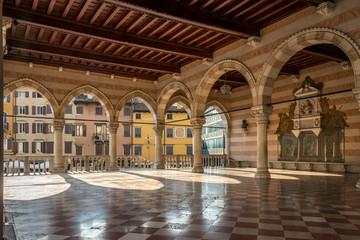 Inside of Loggia Lionello in Udine (City hall)