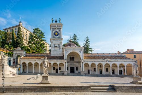 Zdjęcia Clock tower in Udine at Liberta place