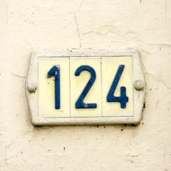 Number 124