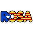 Obrazy na płótnie, fototapety, zdjęcia, fotoobrazy drukowane : ROSA