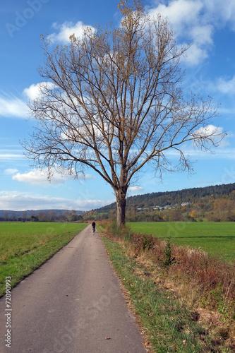 canvas print picture Herbstlandschaft