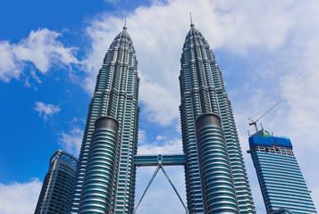 Twin towers at Kuala Lumpur (Malaysia)