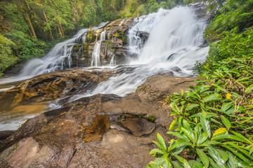 Ninth floor of Pa Dok Seaw waterfall
