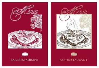 menu. set of icon