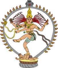vector goddess Kali