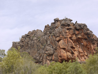 Corroboree Rock in the East McDonnell ranges
