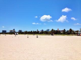 Sunny Day in South Beach - Miami