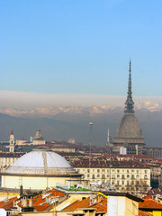 Landscape of Turin Italy