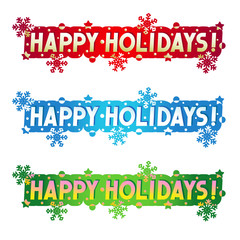 Holiday greeting - Happy Holidays!