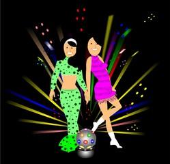 disco queens concept