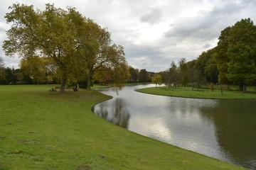 Ciel d'automne au parc de Tervuren