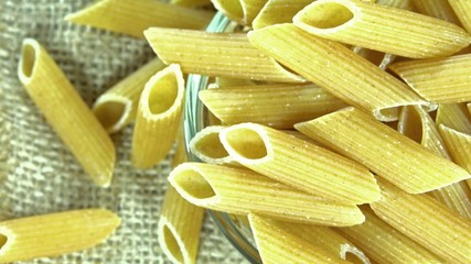 Raw Wholemeal Penne (loopable)