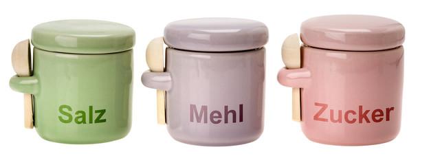 Vorratsdose aus Keramik