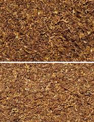 tobacco texture background set