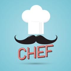 Chef Poster Retro Style
