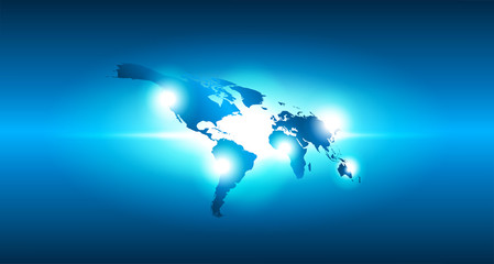 mondo, hi tech, sfondo, internet, comunicaizone