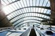 Leinwandbild Motiv Canary Wharf metro Station, London, England, UK
