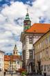 View of Ljubljana city hall - Slovenia