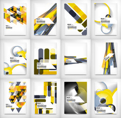 Geometric abstract business template
