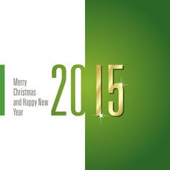 2015 white green background vector
