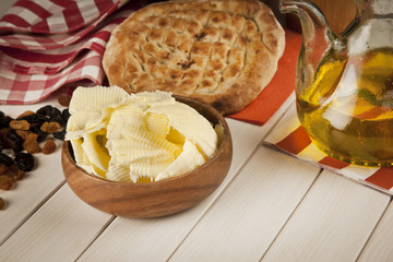 Butter concept stock photo