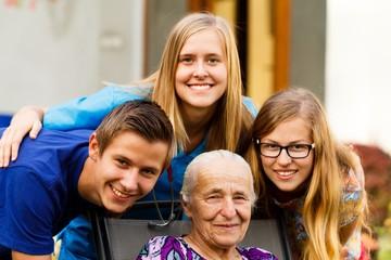 Grandchildren's Visit