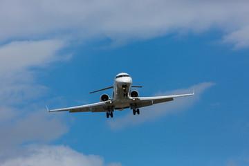 Landeanflug mit Seitenwind