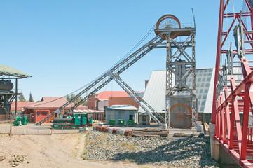 Headframe at Big Hole, Kimberley