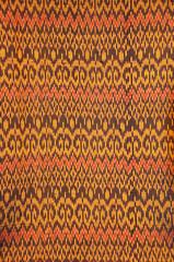 Thai art on Fabric texture, cloth background Thai Style