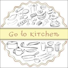 go to kitchen