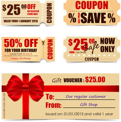 Coupons and Voucher