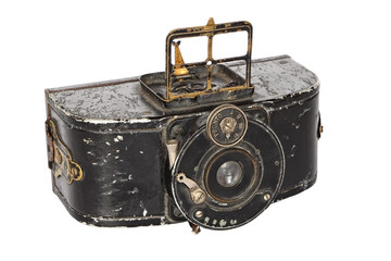 Antique photo camera