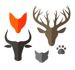 Animal. Icon Set