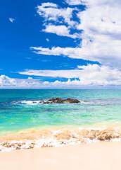 Sunshine Surf On a Beach