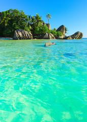 Exotic Beach Scene