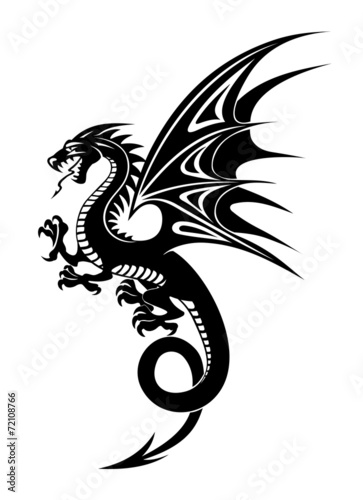 Black dragon - 72108766