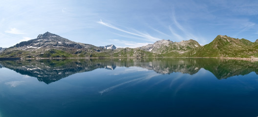 Val sambuco, lake of Naret