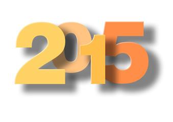 Illustration für Neujahr  2015