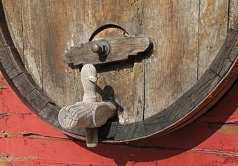 tonneau de vin ancien