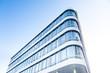 Leinwanddruck Bild - Bürogebäude - modernes Gebäude in Deutschland