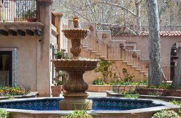 Fountain courtyard at Tlaquepaque