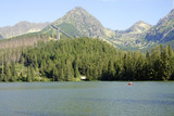 Strbske pleso lake in High Tatra Mountains, Slovakia