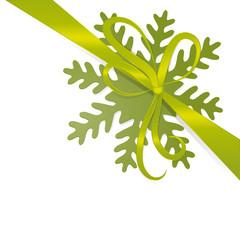 Grüne Schleife Weihnachten