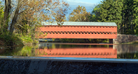 Sachs Covered bridge in Gettysburg, Pennsylvania