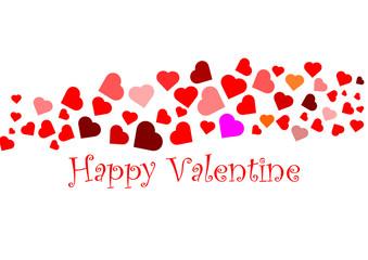 Happy Valentine Karte