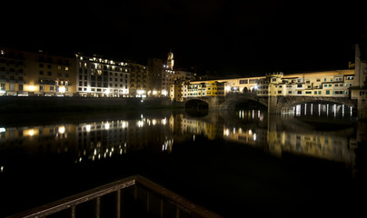 Panoramica del Ponte Vecchio ,Florence