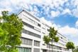 Haus in Deutschland -- modernes Bürogebäude
